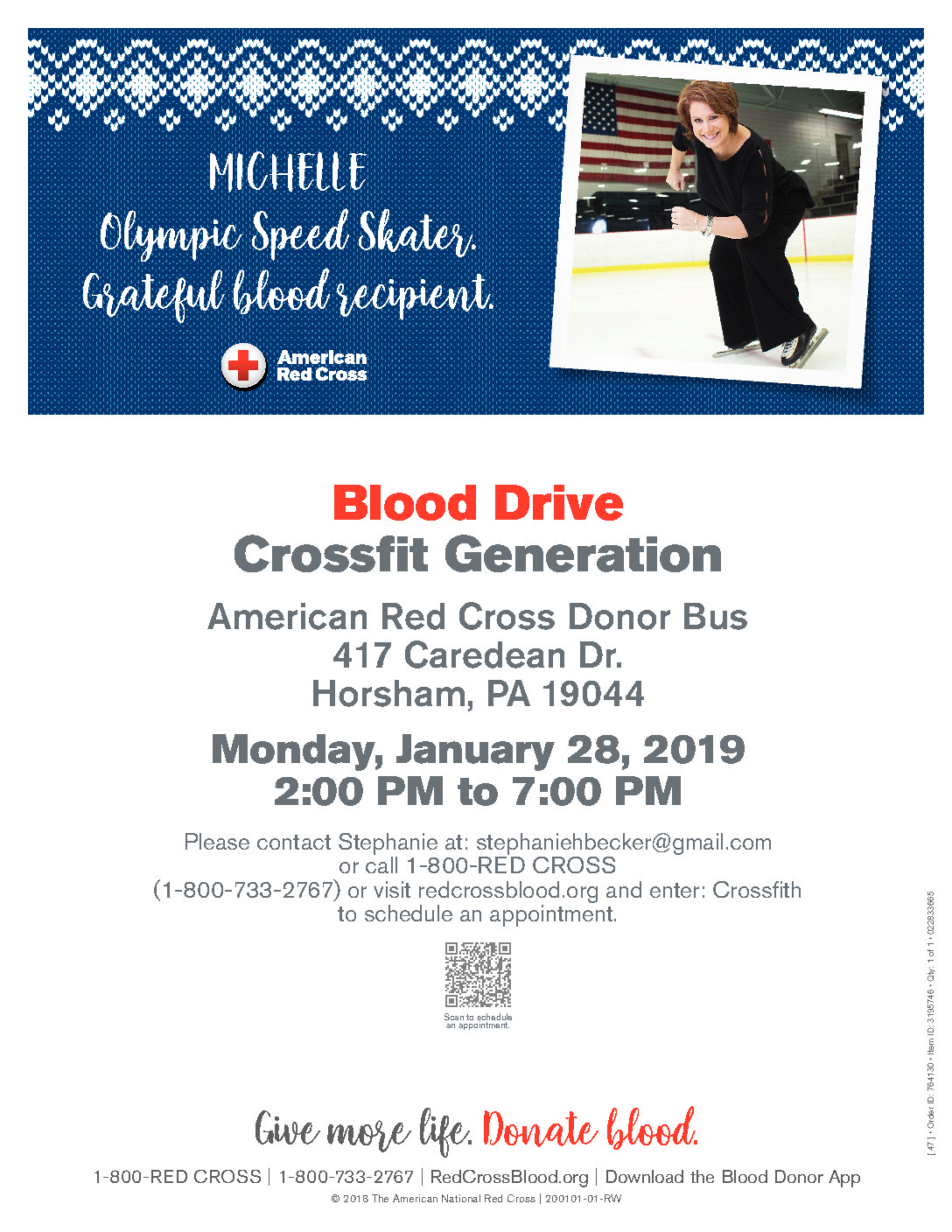 Blood Drive at CFG